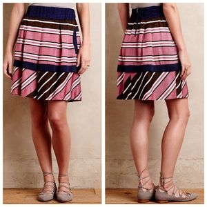 Maeve Ellery striped skirt